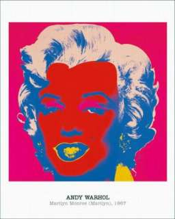 Marilyn Monroe by Andy Warhol (Marilyn)1965 Poster New