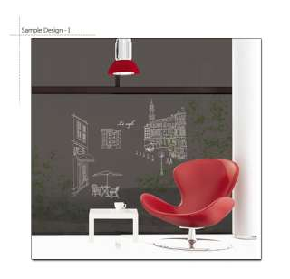 LE CAFE ★ WALL STICKER DECAL REMOVABLE VINYL ART PAPER