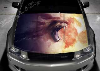 STICKER DECAL VINYL COLOR HOOD FIT ANY CAR ANIME #60