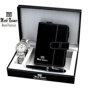 MARK NAIMER Watch/Organizer Set