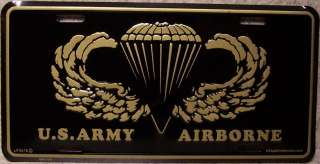 Military Table Lamp U S Army Airborne NEW with shade