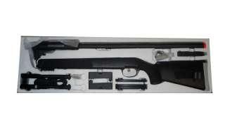 UTG New Gen 5 Accushot Compact Sniper Airsoft Rifle Black SOFT M324S B