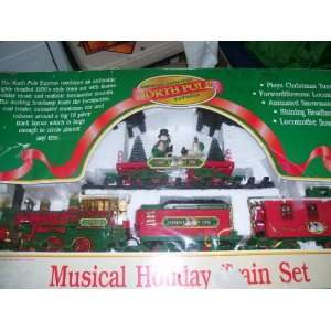 Musical Animate North Pole Express Toys & Games