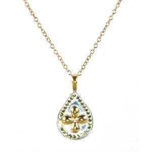 Anna Beck Designs 18k Gold Plated Riau Necklace Teardrop Style