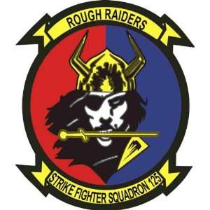 US Navy VFA 125 Rough Raiders Squadron Decal Sticker 5.5