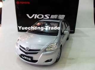 Dealer Ed 1:18,China FAW Toyota Vios,SILVER