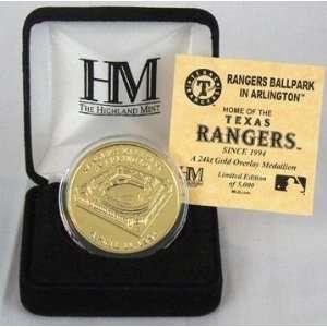Rangers Ballpark Texas Rangers Gold Coin
