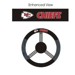 Kansas City Chiefs Car/Truck/Auto Steering Wheel Cover