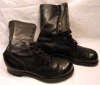 1961 PARATROOPER STYLE LEATHER BOOTS SIZE 9 1/2