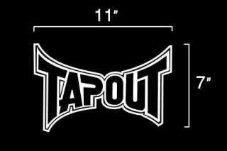 Tapout   Tap Out UFC Vinyl Decal Sticker ANY COLOR