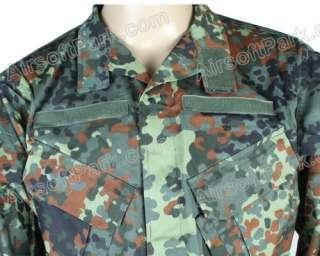 Force Combat Uniform Shirt & Pants Ver3 German Camo   XL