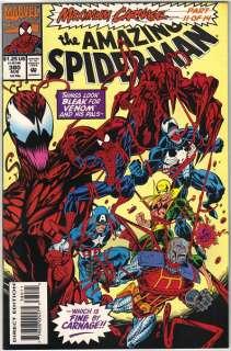 the Amazing Spider Man Comic Book #380, Marvel 1993 NEAR MINT