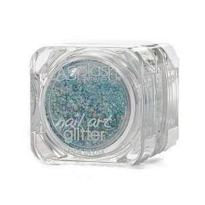 LASplash Cosmetics Nail Art Glitter, Liquidity (blue), .1