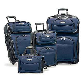 Travelers Choice Amsterdam 4 Piece Set   Navy