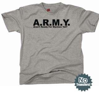 Marines Navy Beat Army Funny USMC Military New T Shirt