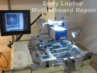 NOTEBOOK MOTHERBOARD REPAIR SONY VAIO VGN TT250 LAPTOP