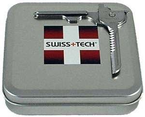 Swiss Tech UTILI KEY Multi Tool Pocket Knife  Gift Tin