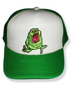 The Real Ghostbusters Slimer Embroidered Cap Truck Hat