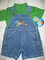Kids Nickelodeon Go DIEGO Go Animal Rescue 2 Piece Shorts Set 18