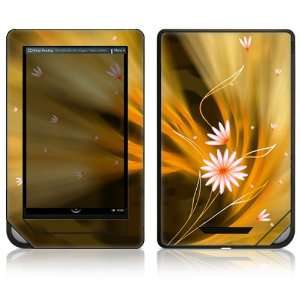 Nook Color Decal Sticker Skin   Flame