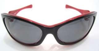 New Oakley Sunglasses Womens Dangerous Black Red Grey Polarized 12 992