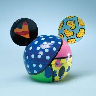 Disney by Britto Mickey Mouse Ears Love Sweetheart Covered Box