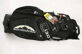 NEW Sun Mountain C 130 C130 Cart Golf Bag Black