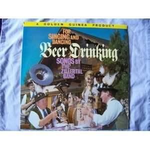 ZILLERTAL BAND Beer Drinking Songs UK LP 1962: Zillertal Band: Music