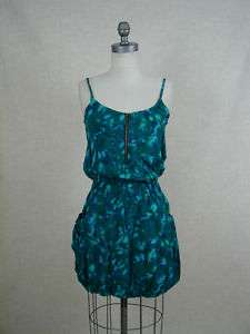 Womens Mimi chica Larisa Summer Dress Aqua green S New