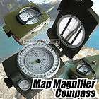 military hiking camping metal army lens map $ 16 99  see