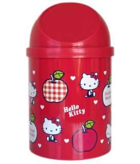 Official Hello Kitty waste basket   trash can (small)