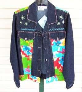 Jag Jeans Denim Jacket Bobeau Knit Dress