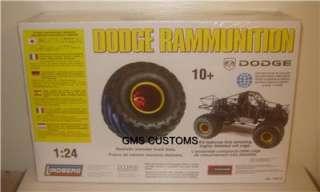 Lindberg Model Kit MONSTER TRUCK DODGE RAMMUNITION