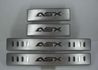 2010+ Mitsubishi ASX Door Sill Protectors Stainless new