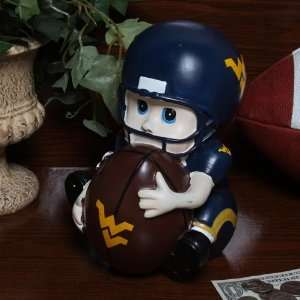NCAA West Virginia Mountaineers Kids Football Player Bank