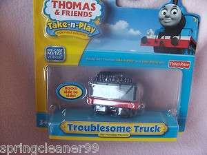 THOMAS THE TANK ~TAKE n PLAY DIE CAST TROUBLESOME TRUCK