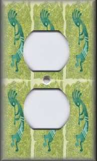 Light Switch Plate Cover   Southwestern Decor   Kokopelli   Sage