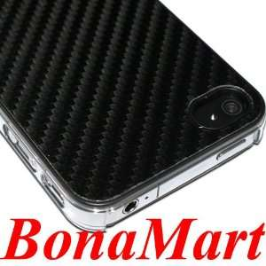 High Quality Slim Thin Carbon Fiber Hard Back Case Cover for iPHONE 4G