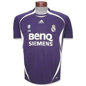 Real Madrid 2007 Third SS Jersey