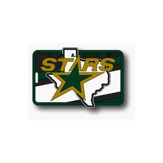 SET OF 3 DALLAS STARS LUGGAGE TAGS *SALE* Sports