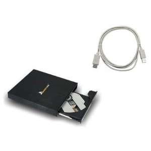 Aluminum Slim External Ultra Fast DVDRW ± CD / DVD Burner