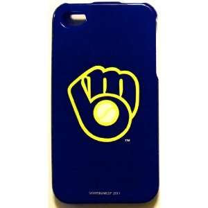 Milwaukee Brewers MLB for Apple iPhone 4 4S Faceplate Hard