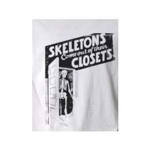 When Skeletons Come Out of Their Closets   Pop Art Graphic