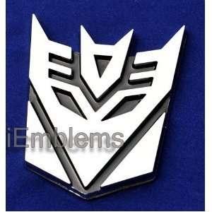 Transformers Decepticon 3d Car Chrome Emblem Everything