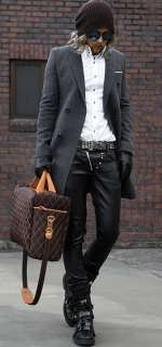 Mens Quilted Travel Weekend Gym Bag Laptop Briefcase Satchel 2 colors