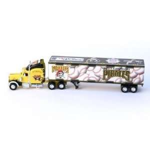 MLB Pittsburgh Pirates Semi Tractor Trailer Die Cast 180