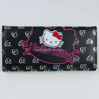 New HelloKitty Face Girls Long Wallet Clutch Card Bag Purse Birthday