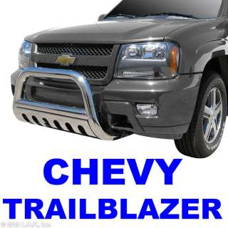 Stainless Push Grill Guard 2002 2009 CHEVY GMC TRAILBLAZER ENVOY