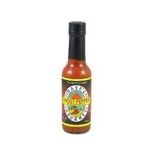 Daves Gourmet, Sauce Hot Grmt Ghost Pppr, 5 OZ (Pack of 12)