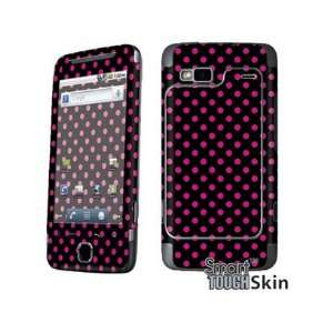 Smart Touch Graphic Hot Pink and Black Polka Dots Vinyl